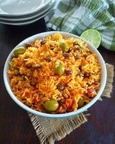 Rice and Pigeon Peas - 275 Rice Recipes - RecipePin.com