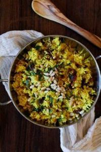 Ginger and Turmeric Aromatic Rice  - 275 Rice Recipes - RecipePin.com