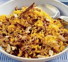 Spicy Indian rice - 275 Rice Recipes - RecipePin.com