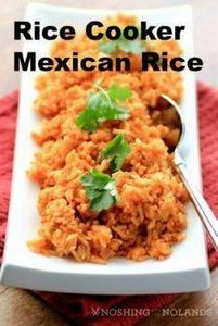 Rice Cooker Mexican Rice by Noshin - 275 Rice Recipes - RecipePin.com