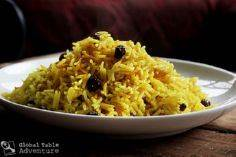 South African Yellow Rice with rai - 275 Rice Recipes - RecipePin.com