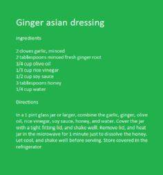 Add an extra tablespoon of honey a - 210 Salad Dressing Recipes - RecipePin.com