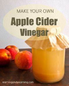 Making your own apple cider vinega - 210 Salad Dressing Recipes - RecipePin.com
