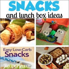 Snacks and Lunch Box Ideas