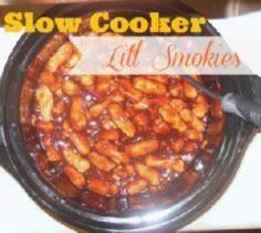 Tangy Slow Cooker Lit'l Smokies Ap - 300 Tailgating Recipes - RecipePin.com