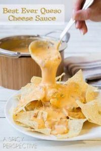 The BEST EVER Nacho Cheese Sauce ( - 300 Tailgating Recipes - RecipePin.com