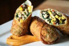 Southwestern Egg Rolls - 300 Tailgating Recipes - RecipePin.com