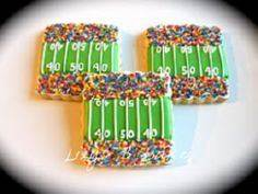 *love* these little football cooki - 300 Tailgating Recipes - RecipePin.com