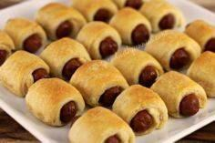 Mini Crescent Dogs (Pigs in a Blan - 300 Tailgating Recipes - RecipePin.com