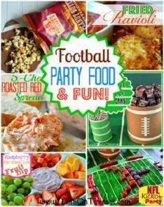 Football Party Food and Fun!! | Mo - 300 Tailgating Recipes - RecipePin.com