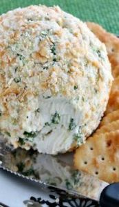 Ranch and Onion Cheese Ball - 300 Tailgating Recipes - RecipePin.com