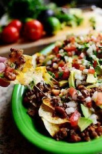 Loaded Nachos. THIS is a man's bes - 300 Tailgating Recipes - RecipePin.com