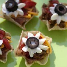 Mini taco cups! Great for party sn - 300 Tailgating Recipes - RecipePin.com