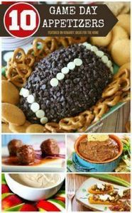 Are you ready for some football? 1 - 300 Tailgating Recipes - RecipePin.com