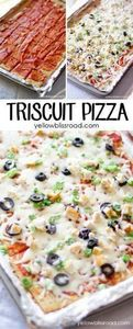 Triscuit Pizza - 300 Tailgating Recipes - RecipePin.com