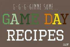 Game Day Recipes | gimmesomeoven.c - 300 Tailgating Recipes - RecipePin.com