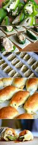 puff pastry jalapeno poppers - 300 Tailgating Recipes - RecipePin.com