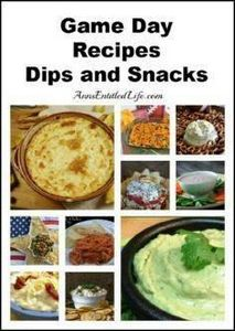 Game Day Recipes – Dips and Snacks - 300 Tailgating Recipes - RecipePin.com