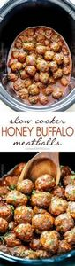 Tender juicy slow cooker Honey Buf - 300 Tailgating Recipes - RecipePin.com