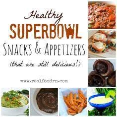 Healthy Superbowl snacks, appetize - 300 Tailgating Recipes - RecipePin.com