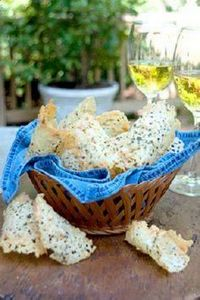 Asiago Cheese Crisps - 300 Tailgating Recipes - RecipePin.com