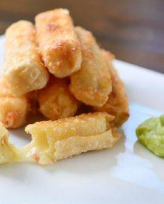 Fried Pepper Jack Cheese Sticks - 300 Tailgating Recipes - RecipePin.com