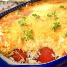 Cheesy-Tuna-and-Rice-Dish - 140 Canned Tuna Recipes - RecipePin.com