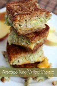 Avocado Tuna Grilled Cheese Sandwi - 140 Canned Tuna Recipes - RecipePin.com