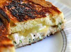 Classic grilled cheese tuna salad  - 140 Canned Tuna Recipes - RecipePin.com