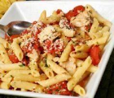 Easy Pantry Tuna Penne - 140 Canned Tuna Recipes - RecipePin.com