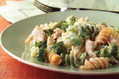 Cheesy Rotini and Tuna recipe - Wh - 140 Canned Tuna Recipes - RecipePin.com