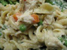 Quick and Easy Stove-Top Tuna Nood - 140 Canned Tuna Recipes - RecipePin.com