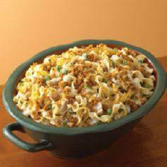 Tuna Noodle Casserole | http://www - 140 Canned Tuna Recipes - RecipePin.com