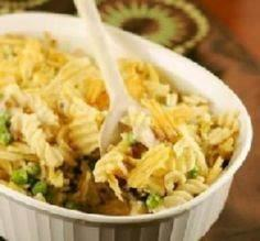 Tuna Casserole: This recipe certainly does bring back memories and reminds you how warming the old comfort foods from childhood can be! -Sammijo - 140 Canned Tuna Recipes - RecipePin.com