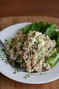 Creamy Tuna Pasta-The Tastiest Hea - 140 Canned Tuna Recipes - RecipePin.com