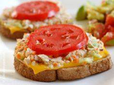 Tuna Melts - 140 Canned Tuna Recipes - RecipePin.com