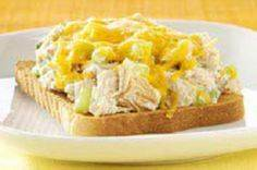 Toasted Tuna Melts recipe - 140 Canned Tuna Recipes - RecipePin.com