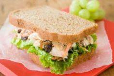 Kid-Friendly Tuna Salad with Almon - 140 Canned Tuna Recipes - RecipePin.com