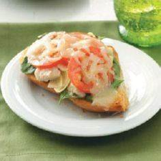 Artichoke Tuna Melt Recipe - 140 Canned Tuna Recipes - RecipePin.com
