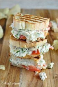 Lemony Herb Tuna Melts with Fontin - 140 Canned Tuna Recipes - RecipePin.com