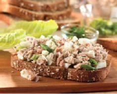 Dilled Tuna & Egg Sandwiches - - 140 Canned Tuna Recipes - RecipePin.com