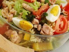 Tuna Pasta Salad - 140 Canned Tuna Recipes - RecipePin.com