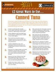 12 Great Ways to Use...Canned Tuna - 140 Canned Tuna Recipes - RecipePin.com