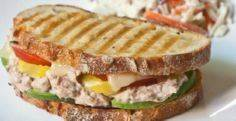 Spicy Tuna Melt Panini - 140 Canned Tuna Recipes - RecipePin.com