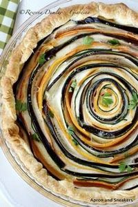 Spiral Vegetable Ricotta Pie by ap - 385 Veggie Swaps Recipes - RecipePin.com