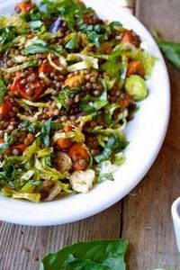 French Lentil and Vegetable Salad  - 385 Veggie Swaps Recipes - RecipePin.com