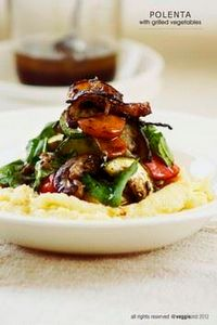 Polenta with Grilled Vegetables, I - 385 Veggie Swaps Recipes - RecipePin.com
