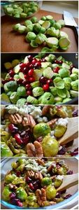 Pan-Seared Brussels Sprouts with C - 385 Veggie Swaps Recipes - RecipePin.com
