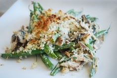 Green Beans with Creamy Mushrooms  - 385 Veggie Swaps Recipes - RecipePin.com