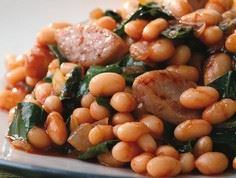 BBQ Baked Beans & Sausage with - 385 Veggie Swaps Recipes - RecipePin.com